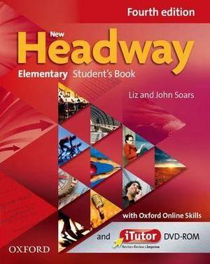 New Headway Elementary Student's Book with iTutor and Oxford Online Skills