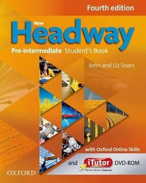 New Headway Pre-Intermediate Student's Book with iTutor and Oxford Online Skills