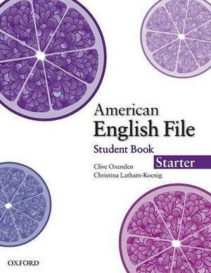 American English File Starter Student Book