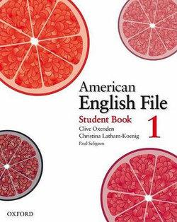 American English File Level 1 Student Book
