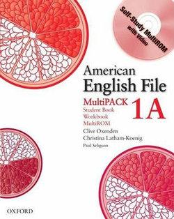 American English File Level 1 Student Book and Workbook Multipack A
