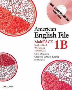 American English File Level 1 Student Book and Workbook Multipack B