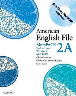 American English File Level 2 Student Book and Workbook Multipack A