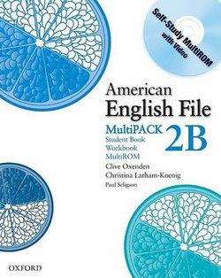 American English File Level 2 Student Book and Workbook Multipack B