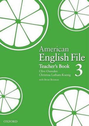 American English File Level 3 Teacher's Book
