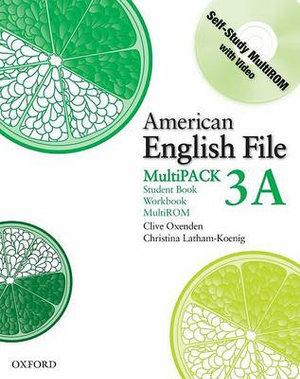 American English File Level 3 Student Book and Workbook Multipack A