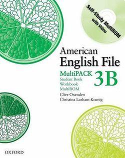 American English File Level 3 Student Book and Workbook Multipack B