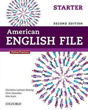 American English File Starter Student Book with Online Practice