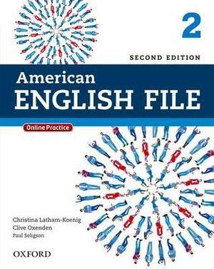 American English File Level 2 Student Book with Online Practice