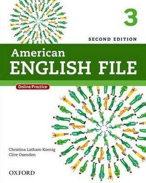 American English File Level 3 Student Book with Online Practice