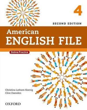 American English File Level 4 Student Book with Online Practice