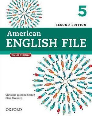 American English File Level 5 Student Book with Online Practice