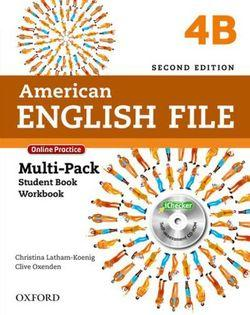 American English File Level 4 Multi-Pack B with Online Practice and iChecker