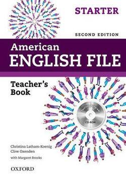 American English File Starter Teacher's Book with Testing Program CD-ROM