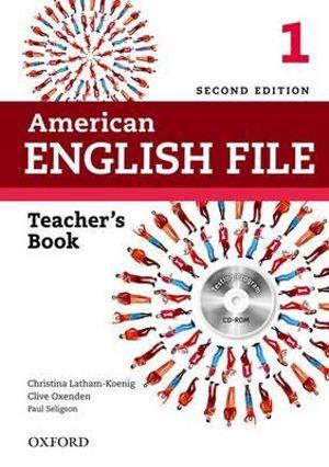 American English File Level 1 Teacher's Book with Testing Program CD-ROM