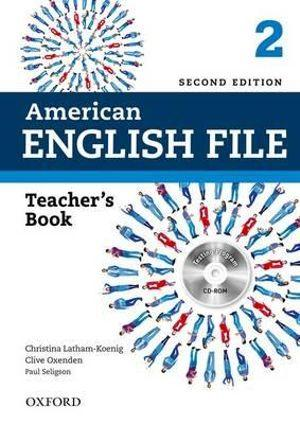 American English File Level 2 Teacher's Book with Testing Program CD-ROM