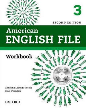 American English File Level 3 Workbook without keypack