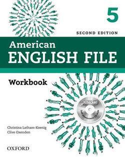American English File Level 5 Workbook with iChecker