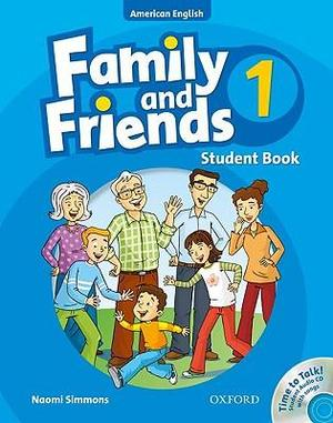 American Family and Friends 1 Student Book & Student's CD Pack