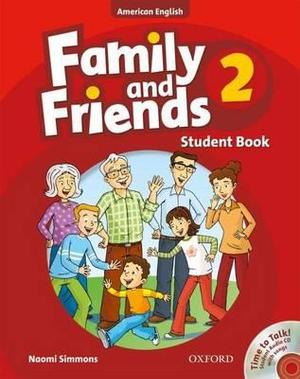 American Family and Friends 2 Student Book & Student's CD Pack