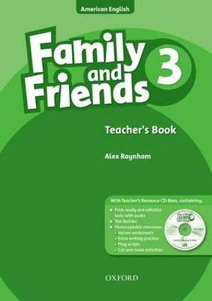 Family and Friends American Edition 3 Teacher's Book & CD-ROM Pack