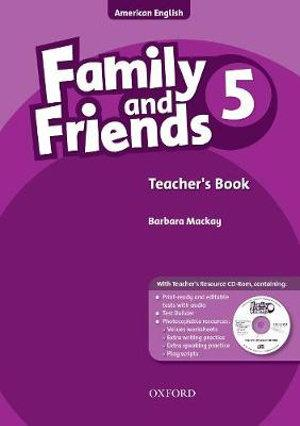 Family and Friends American Edition 5 Teacher's Book & CD-ROM Pack