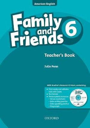 Family and Friends American Edition 6 Teacher's Book & CD-ROM Pack