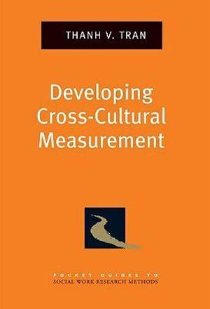 Developing Cross-Cultural Measurement