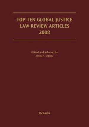 Top Ten Global Justice Law Review Articles 2008