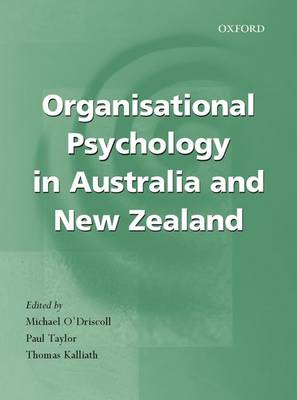 Organisational Psychology in Australia and New Zealand