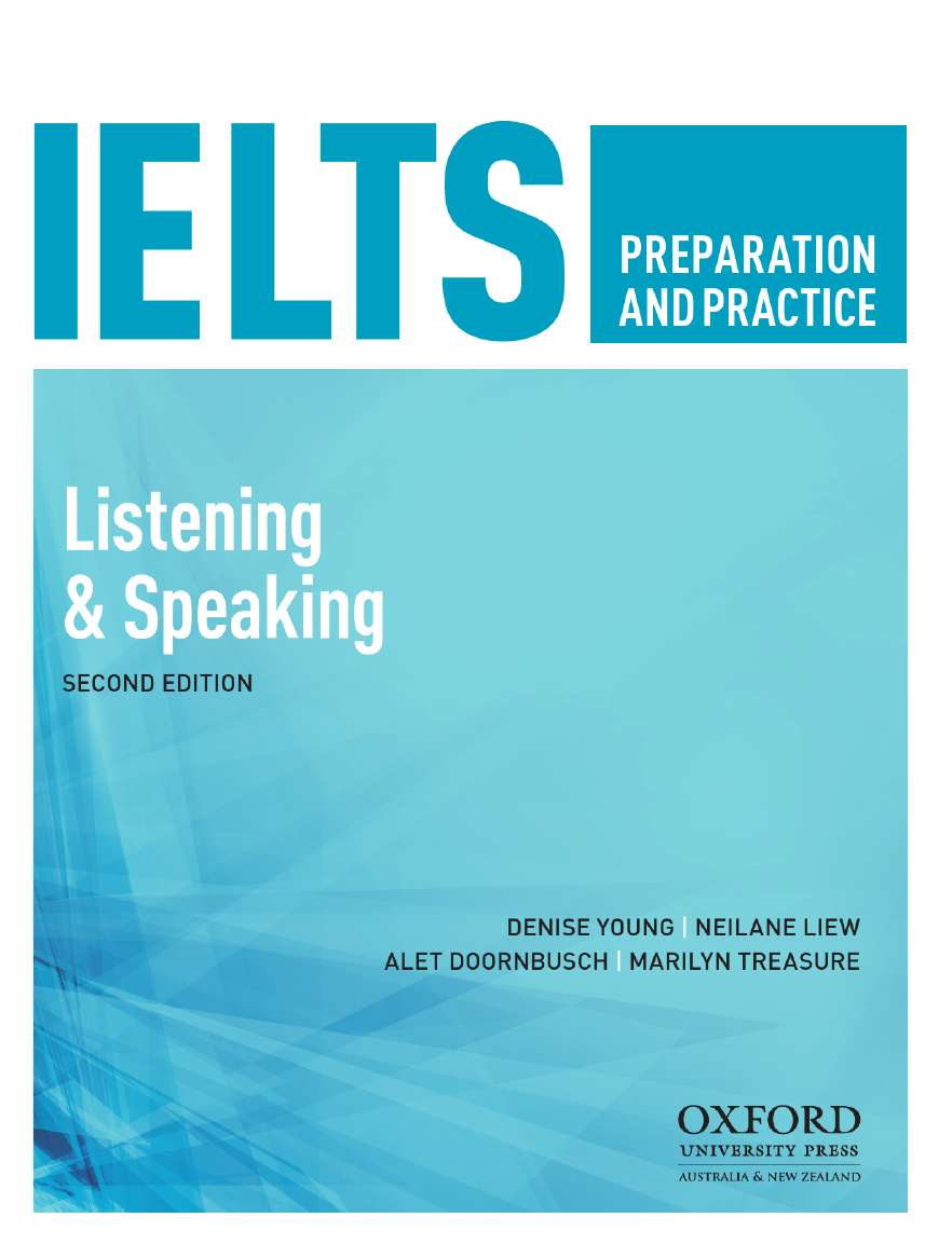 IELTS Preparation and Practice: Speaking and Listening Student Book