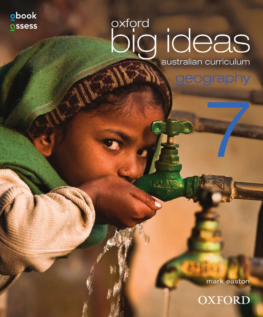 Oxford Big Ideas Geography 7 Australian Curriculum Student book + obook assess