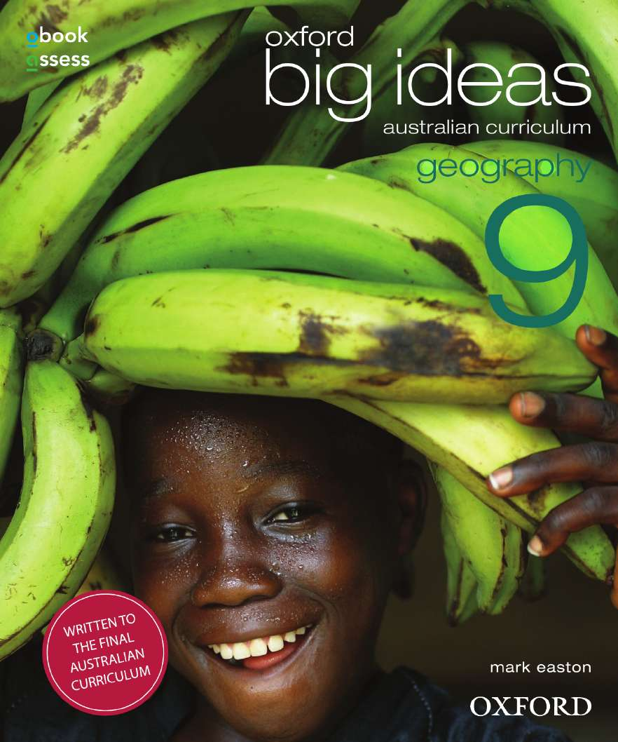 Oxford Big Ideas Geography 9 Australian Curriculum Student book + obook assess