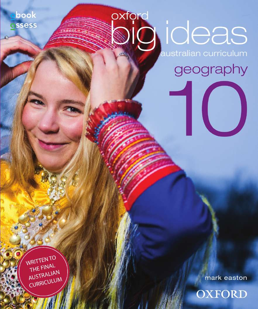 Oxford Big Ideas Geography 10 Australian Curriculum Student book + obook assess