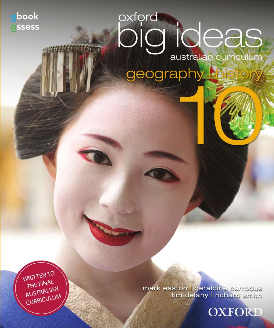 Oxford Big Ideas Geography/History 10 AC Student book + obook assess