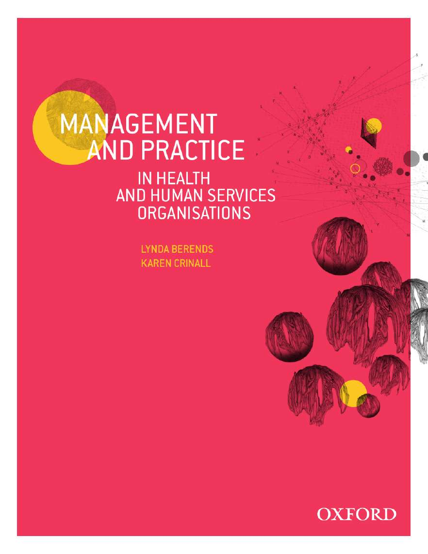 Management and Practice in Health and Human Service Organisations