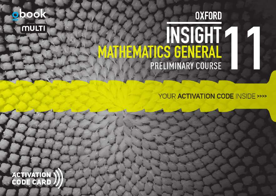 Oxford Insight Mathematics General Prelim Student obook assess MULTI (code card)