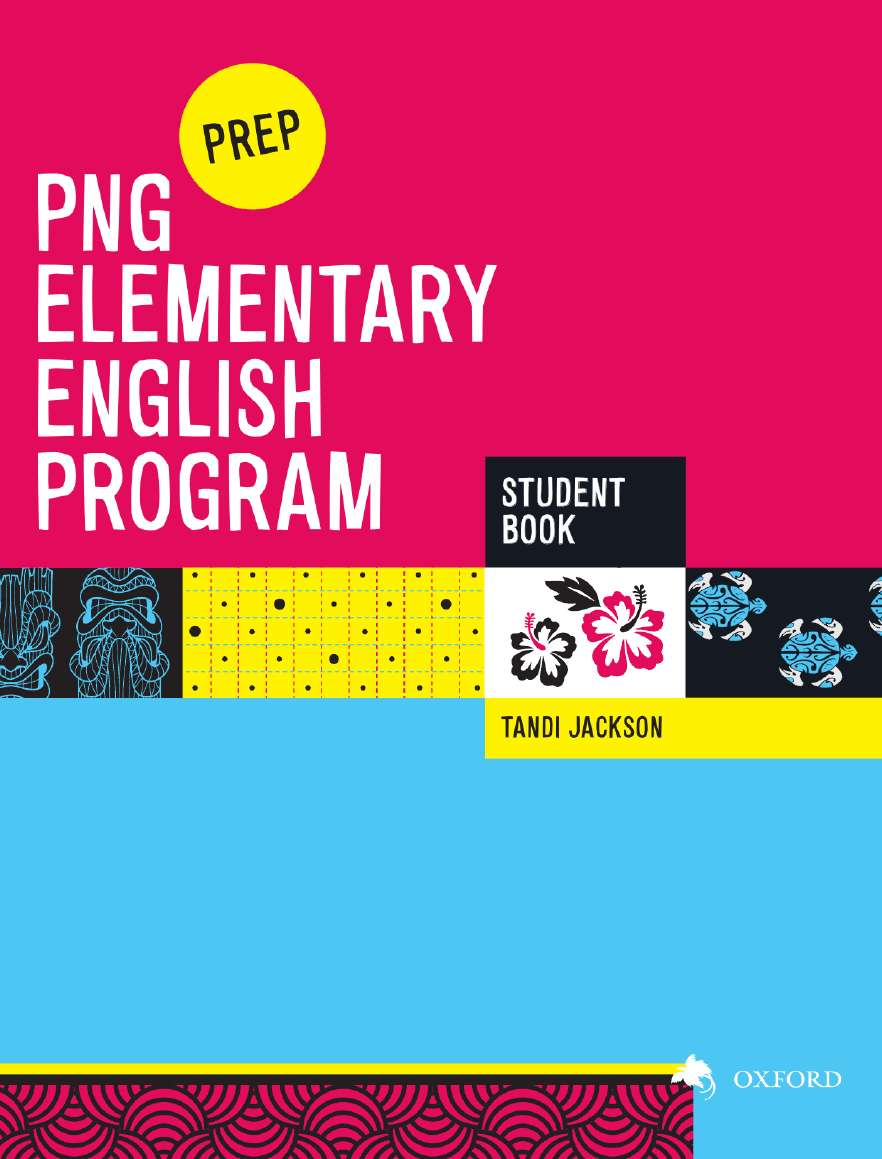 PNG Elementary English Program Student Book Prep