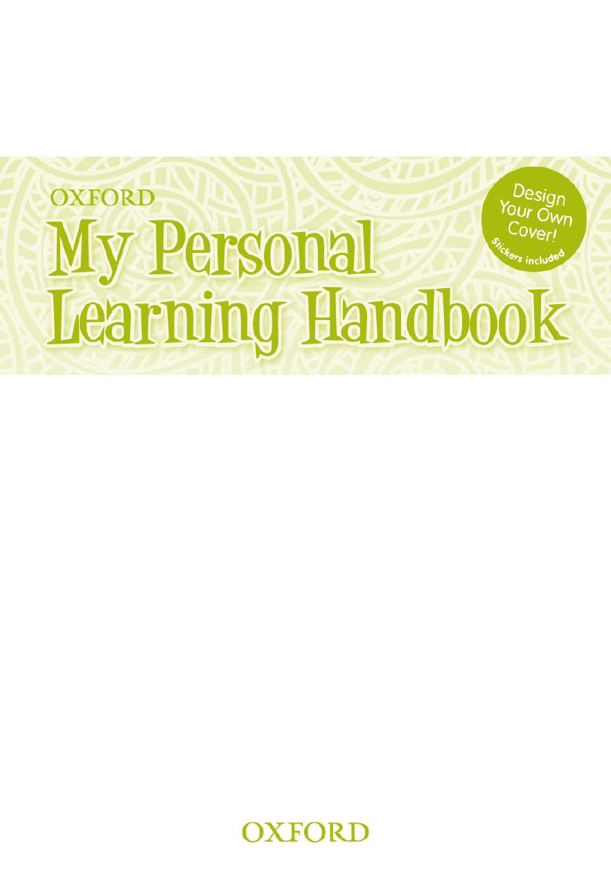 My Personal Learning Handbook
