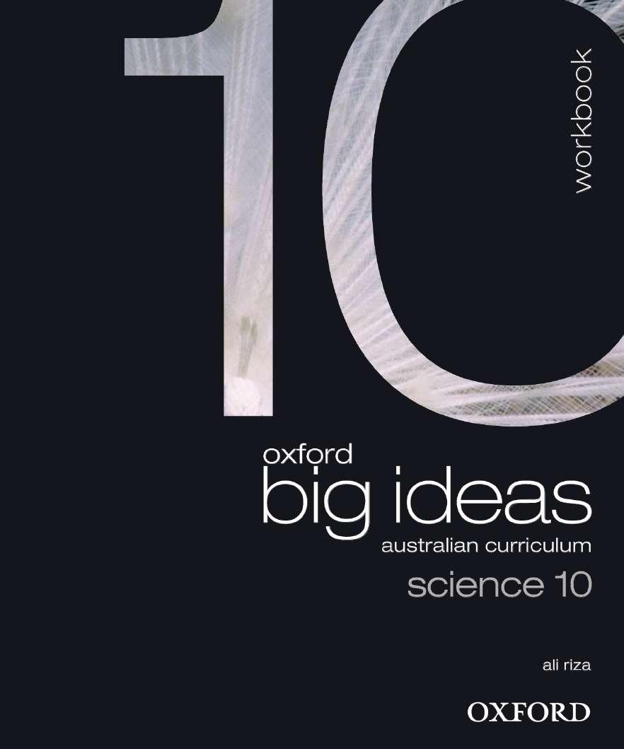 Oxford Big Ideas Science 10 Australian Curriculum Workbook