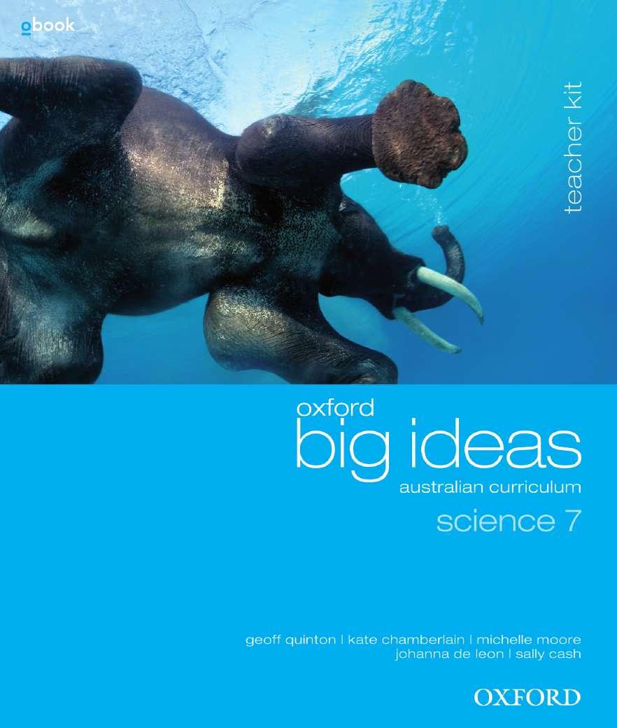 Oxford Big Ideas Science 7 Australian Curriculum Teacher Kit + obook assess