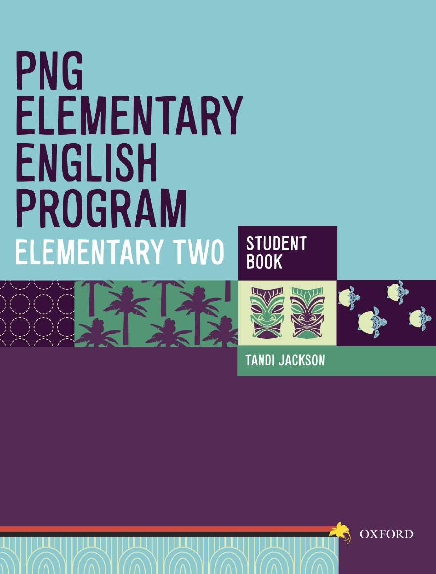 PNG Elementary English Program Student Book Elementary 2