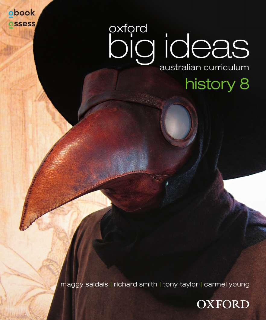 Oxford Big Ideas History 8 Australian Curriculum Student book + obook assess