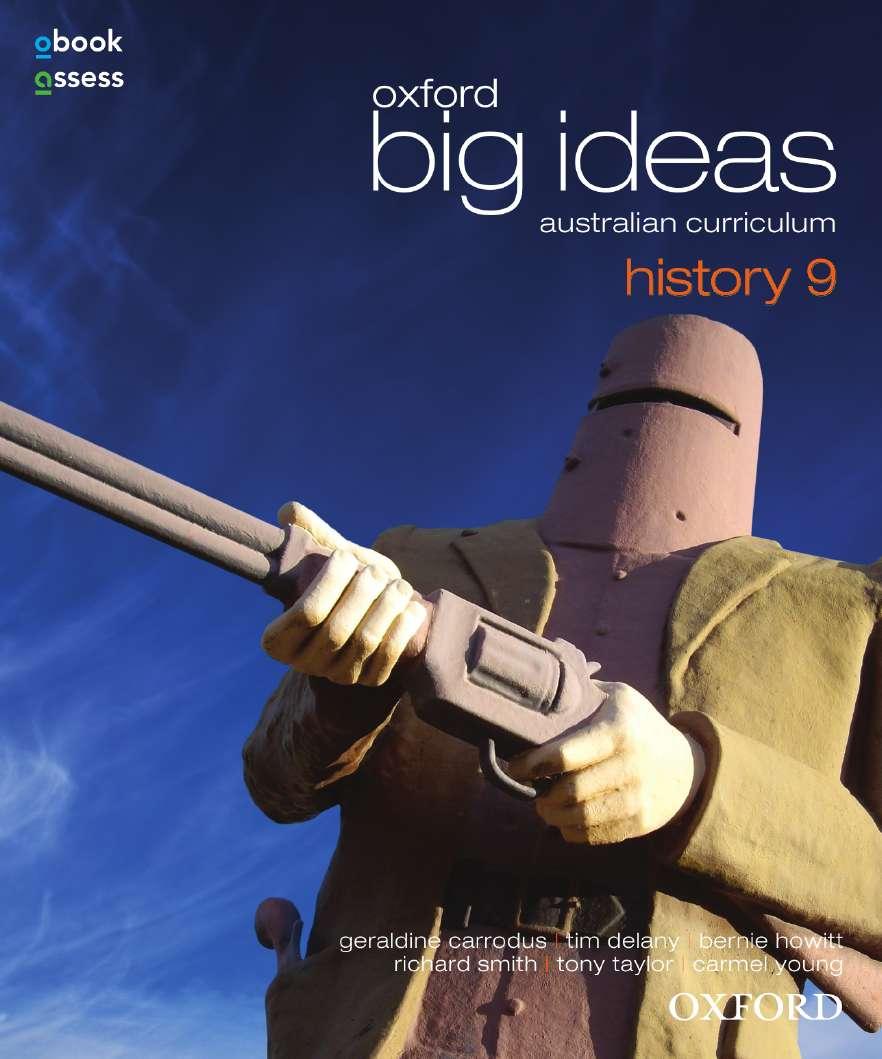 Oxford Big Ideas History 9 Australian Curriculum Student book + obook assess