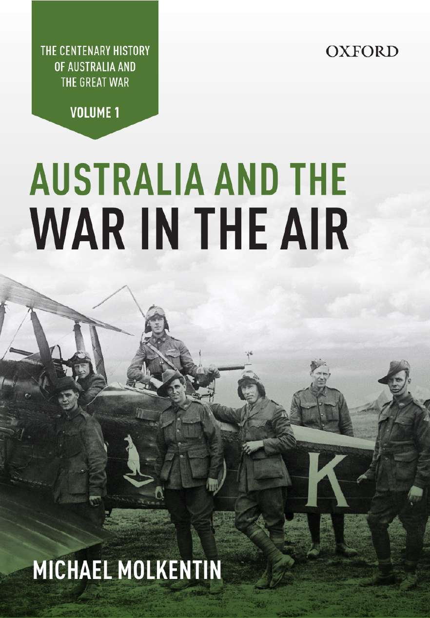 Australia and the War in the Air: Volume I