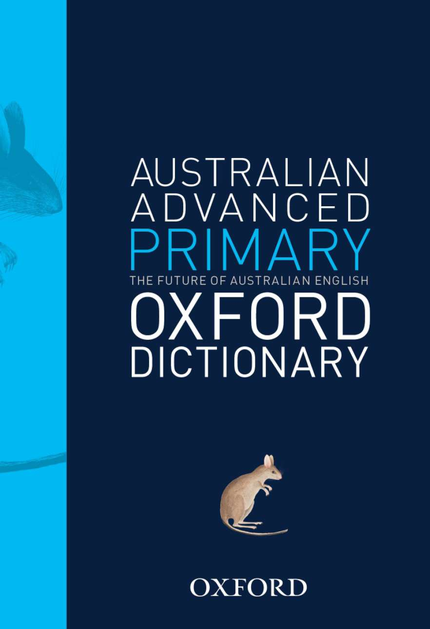 Australian Advanced Primary Dictionary