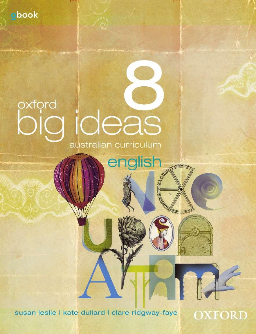 Oxford Big Ideas English 8 Australian Curriculum Student Book + obook