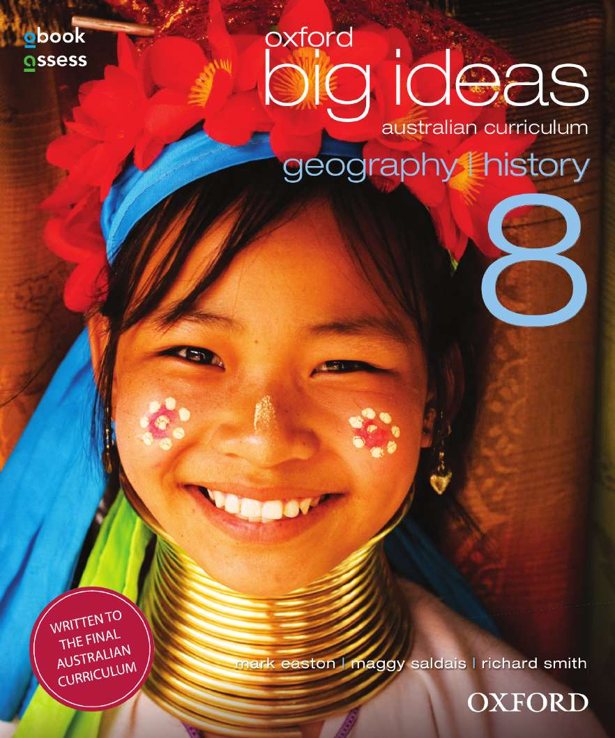 Oxford Big Ideas Geography/History 8 AC Student book + obook assess