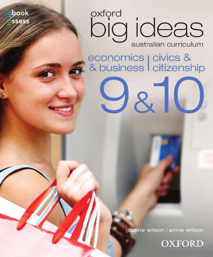 Oxford Big Ideas Economics & Business /Civics & Citizenship 9&10