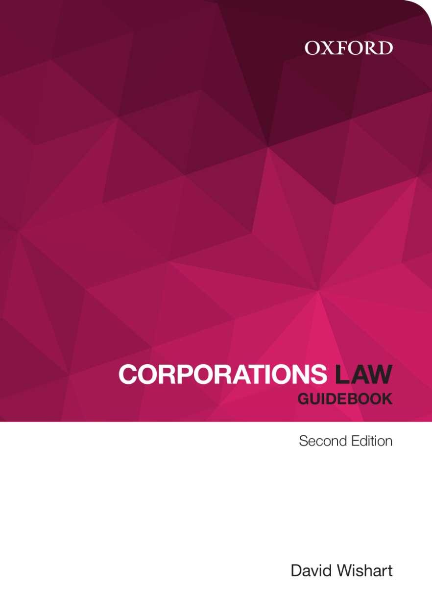 Corporations Law Guidebook Ebook